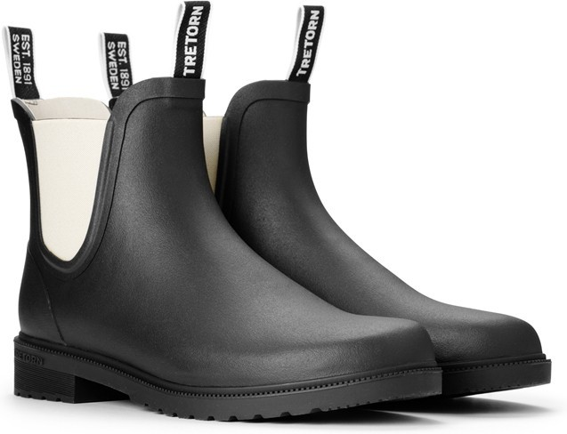 Chelsea Classic Boot Tretorn - Black/Sand