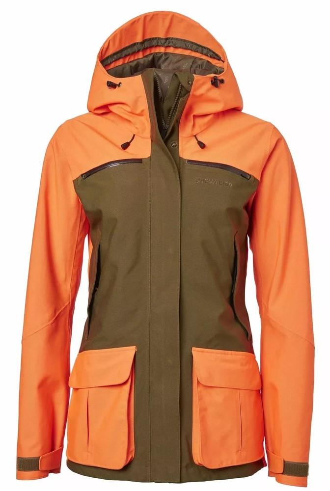 Noux Jacket Dam Chevalier - High Vis Orange