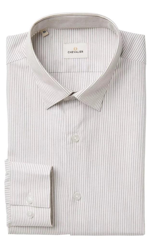 Abisko Shirt Chevalier - Light Brown Striped
