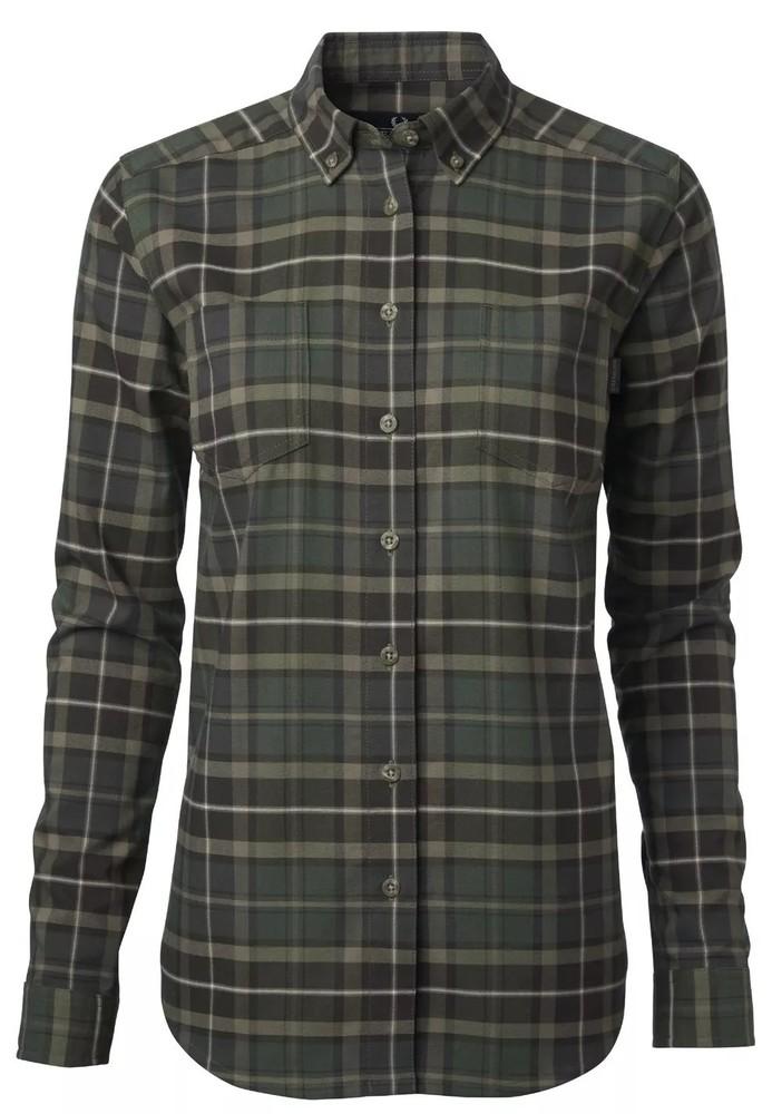 Banton Shirt W Dam Chevalier - Check Green