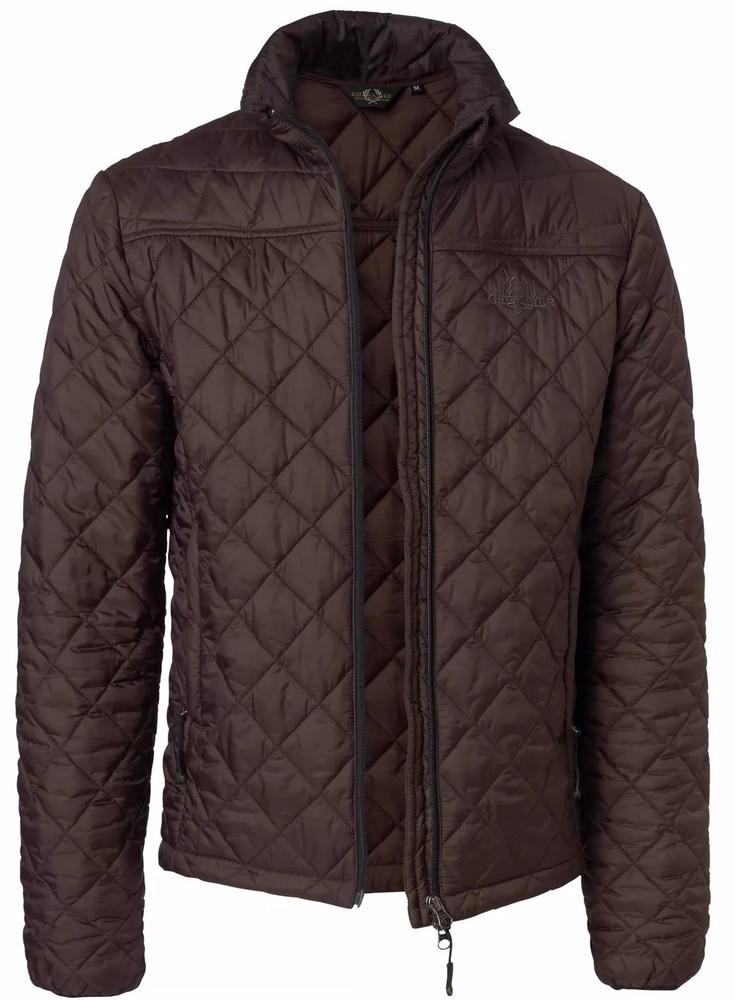 Avalon Quilt Coat Chevalier - Brown