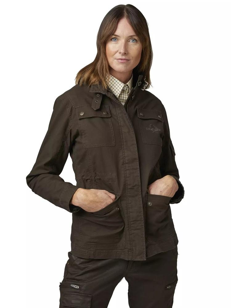 Devon Lady Coat Chevalier - Brown *
