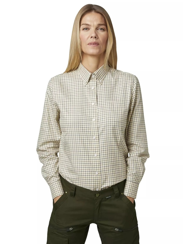 Carla Lady Shirt LS Chevalier - Check