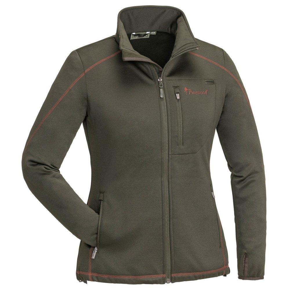 Frazer Sweater Dam Pinewood - Mockabrun/Mörk Koppar *