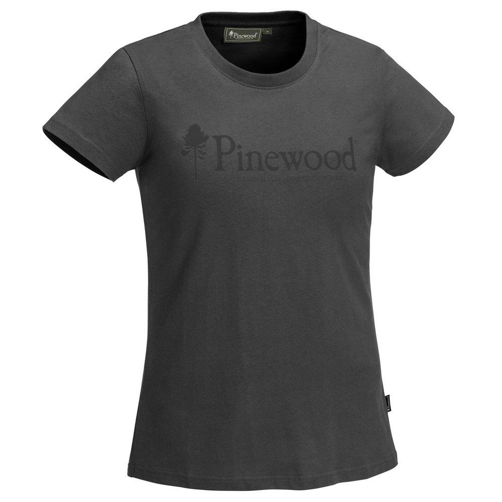 Outdoor Life T-Shirt Dam Pinewood - Mörk Antracit *