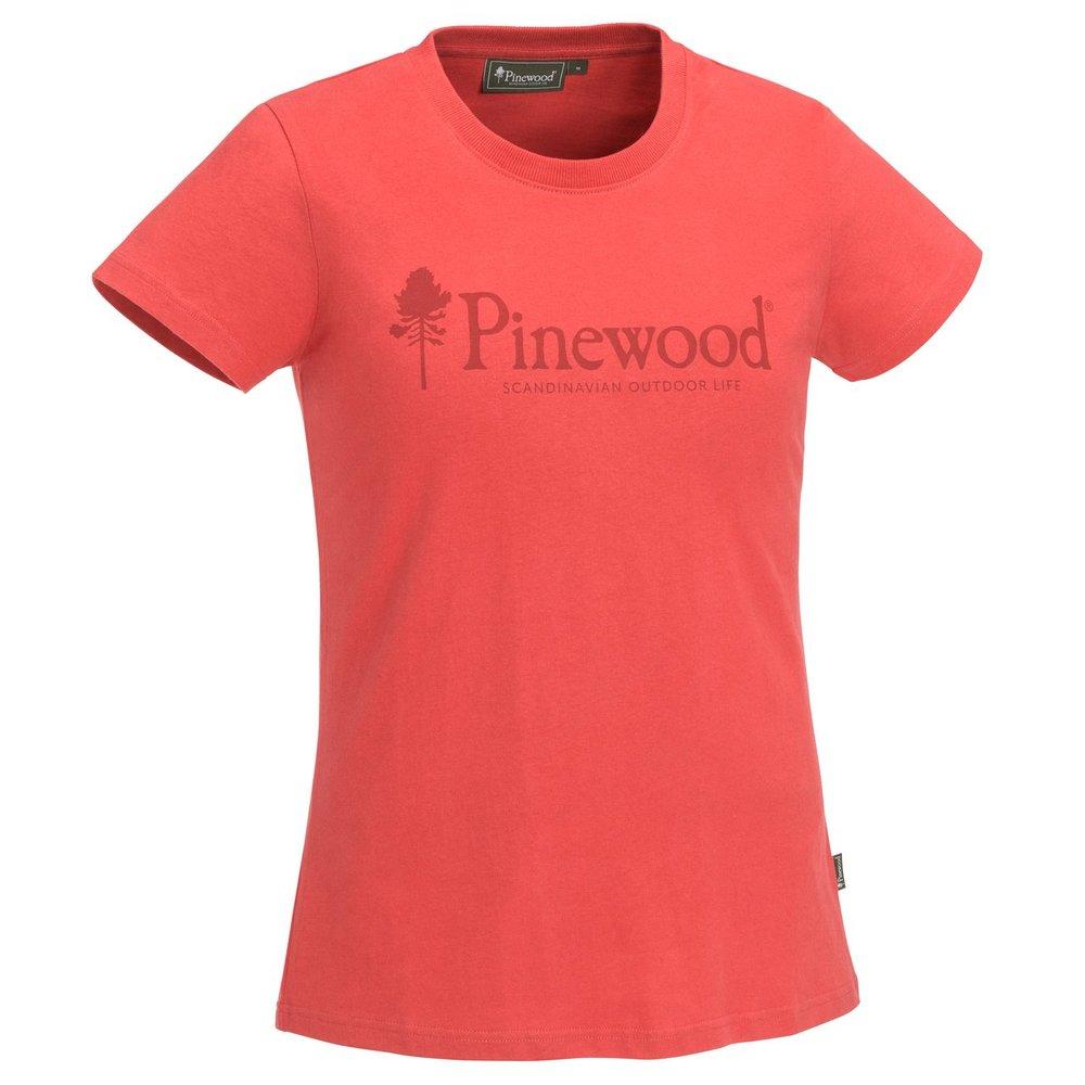 Outdoor Life T-Shirt Dam Pinewood - Coral *