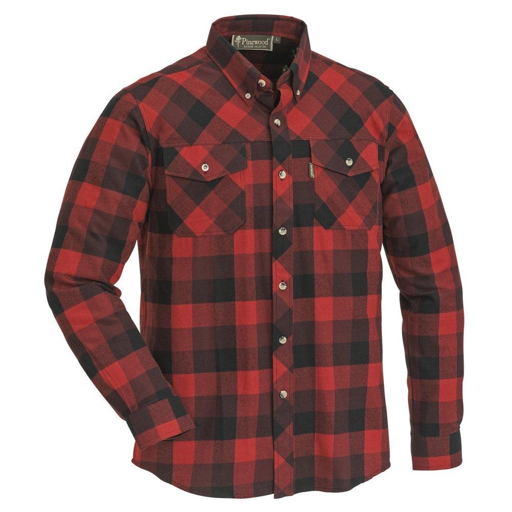 Lumbo Skjorta Pinewood - Röd/Svart *
