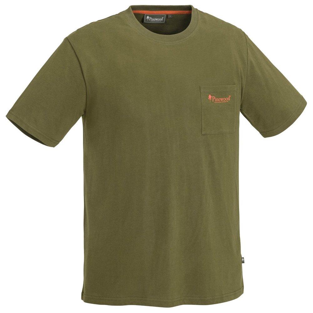 Fishing T-Shirt Pinewood - Jaktoliv