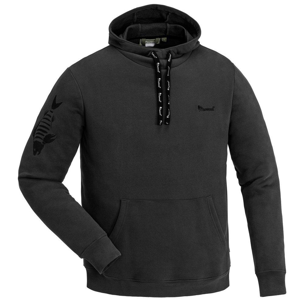 Fishing Sweater Pinewood - Mörk Antracit *