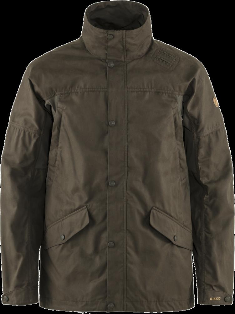 Forest Hybrid Jacket M Fjällräven - Dark Olive