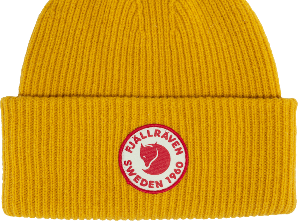 1960 Logo Hat Fjällräven - Mustard Yellow