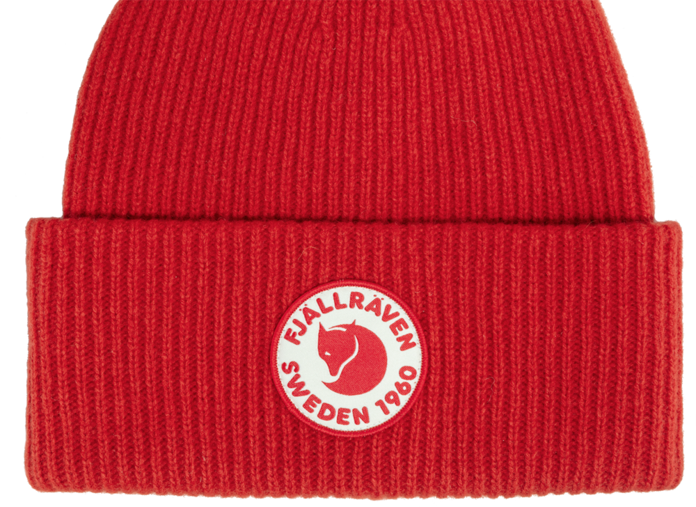 1960 Logo Hat Fjällräven - True Red *