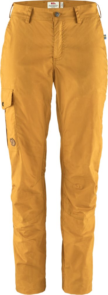 Karla Lite Curved Trousers Dam Fjällräven - Acorn *