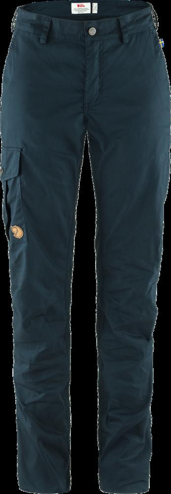Karla Lite Curved Trousers Dam Fjällräven - Dark Navy *