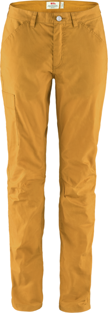Vardag Lite Trousers Dam Fjällräven - Acorn *