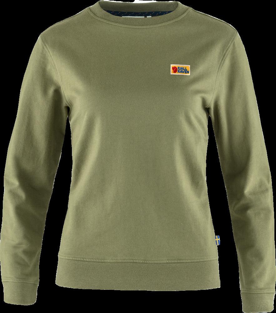 Vardag Sweater Dam Fjällräven - Green *