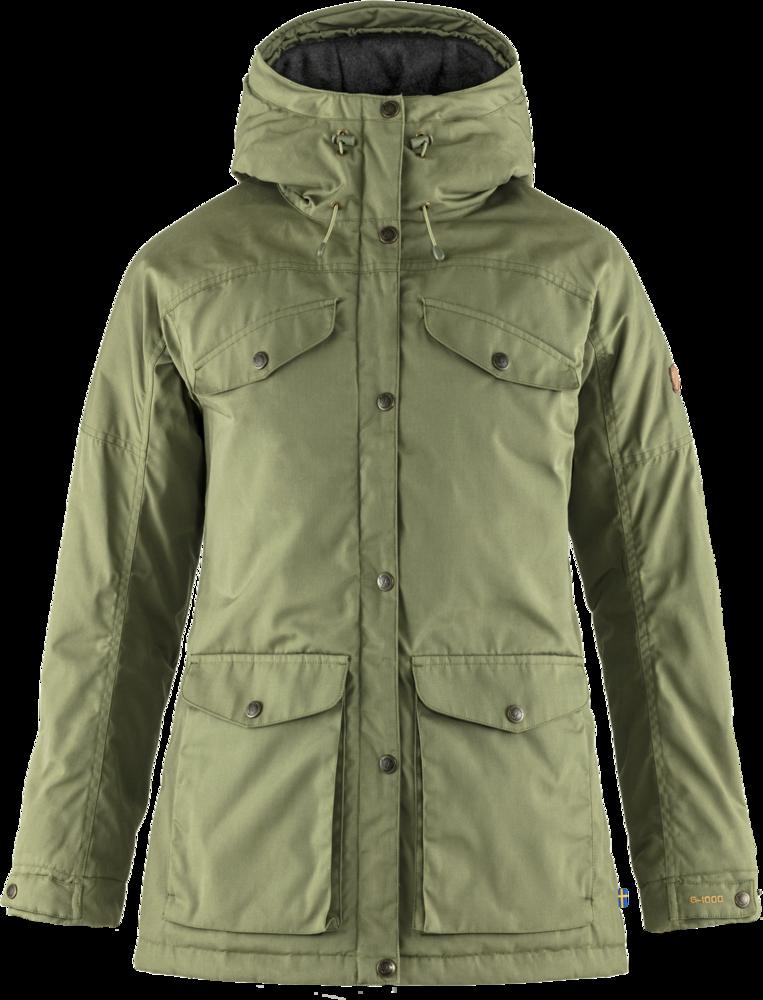 Vidda Pro Wool Padded Jacket Dam Fjällräven - Green *