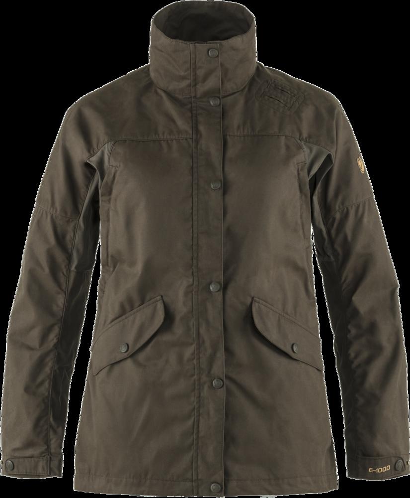Forest Hybrid Jacket Dam Fjällräven - Dark Olive *