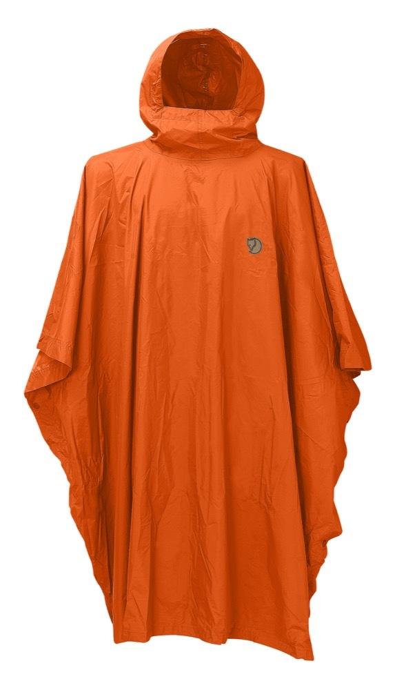 Poncho Fjällräven - Safety Orange