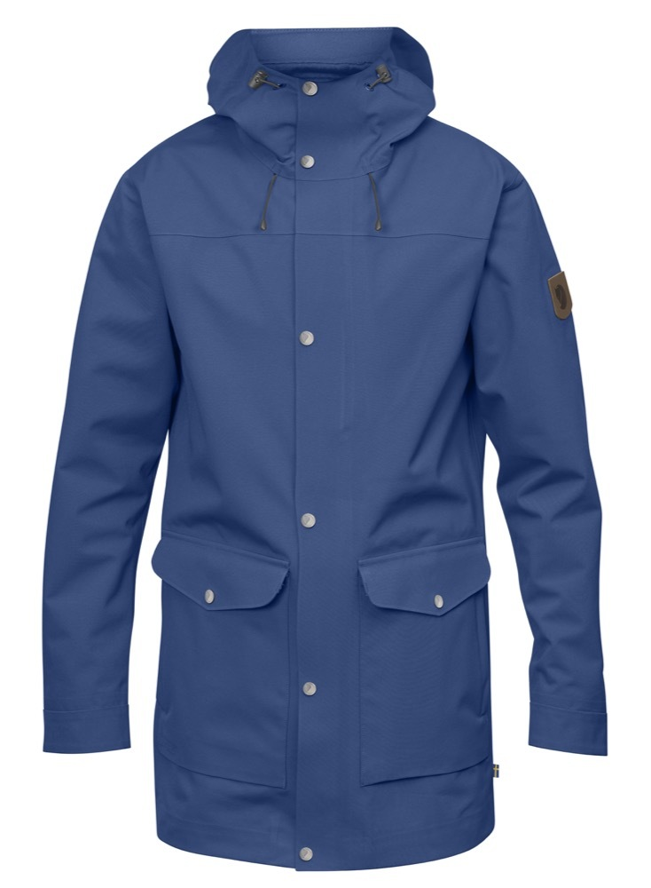 Greenland Eco-Shell Jacket M Fjällräven - Deep Blue