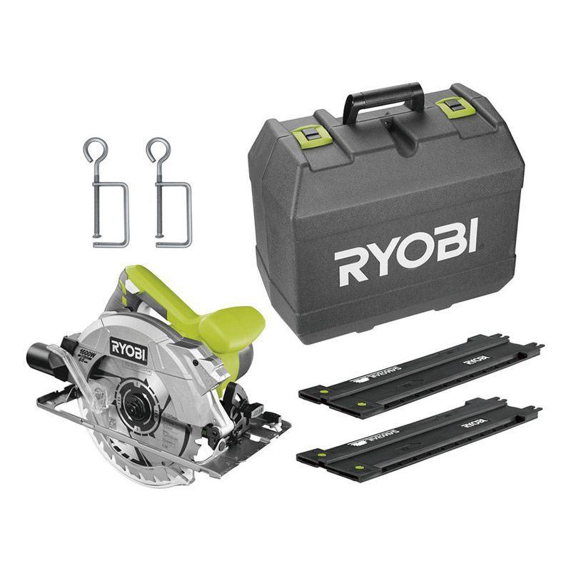 Ryobi RCS1600-KSR Cirkelsåg med sågguide 1600W