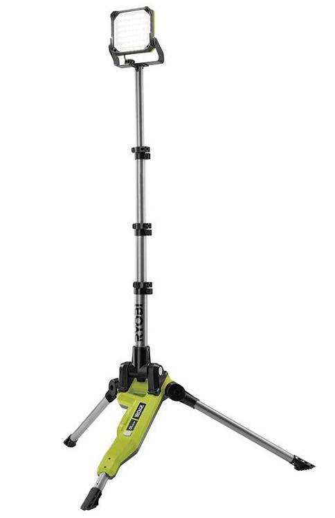 Ryobi R18TL-0 Arbetsbelysning på stativ 18V *
