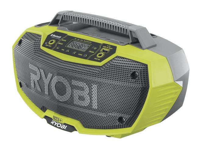 Ryobi R18RH-0 Arbetsradio med Bluetooth® 18V