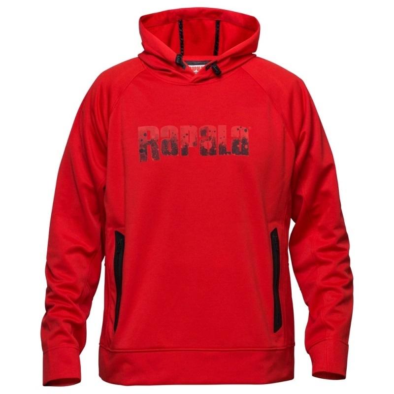 Rapala Hoodie Splash - Red