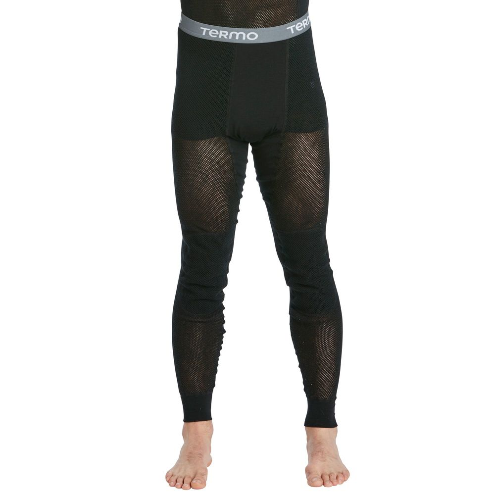 Termo Woolnet Long Johns No Fly - Black