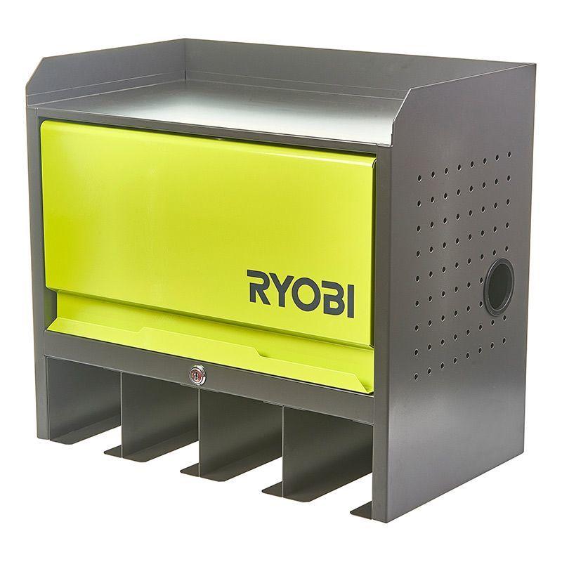 Ryobi RHWS-01 Väggmonterat verktygsskåp med dörr