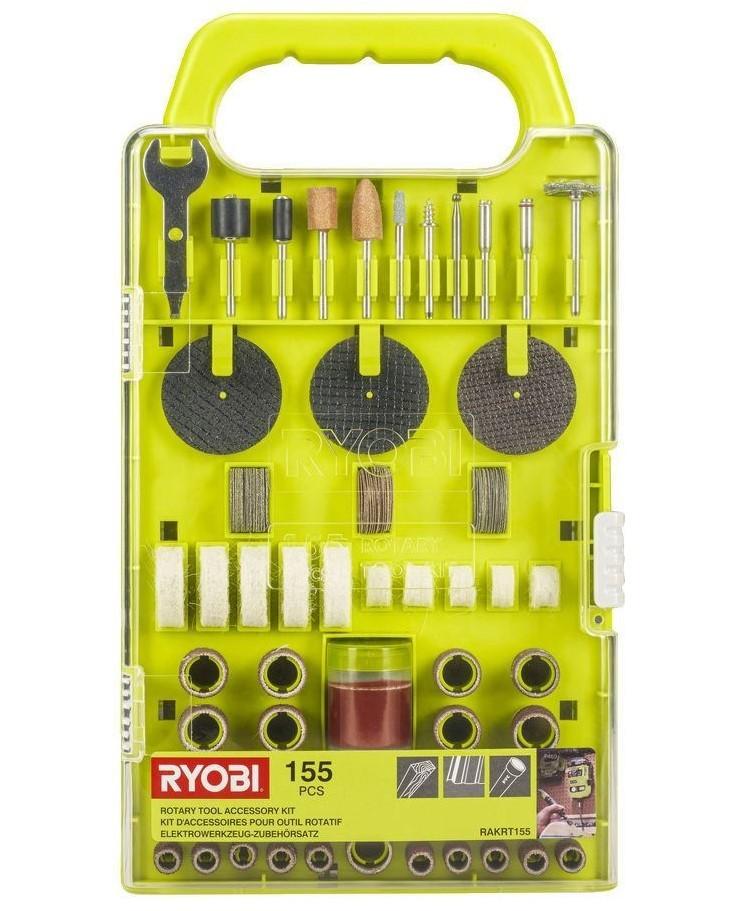 Ryobi RAKRT155 Multiverktygstillbehör 155 delar
