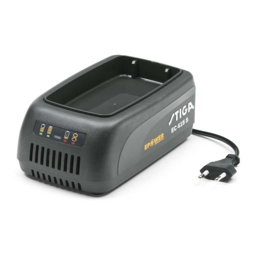 Stiga EC 415 S Batteriladdare