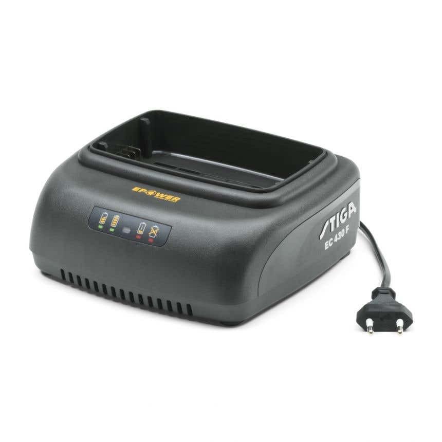 Stiga EC 430 F Batteriladdare