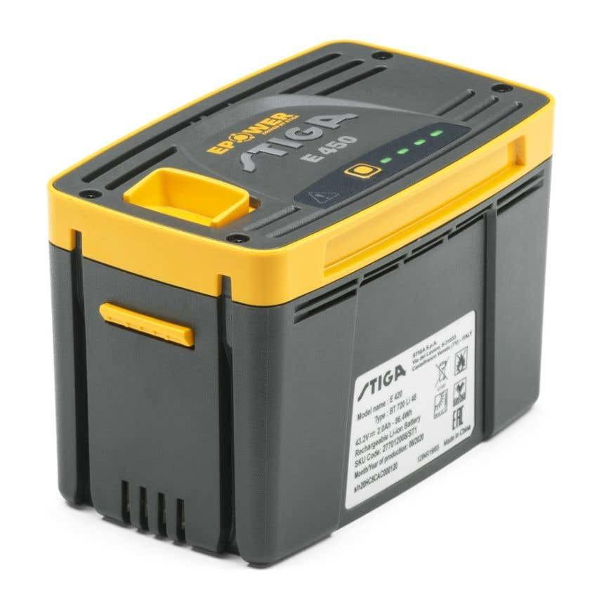 Stiga E 450 Batteri