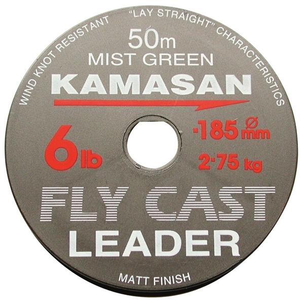 KAMASAN FLY CAST LEADER 50METER