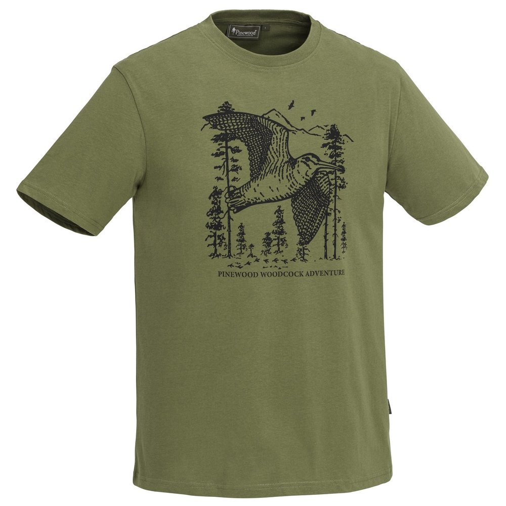 Bird T-Shirt Pinewood - Leaf