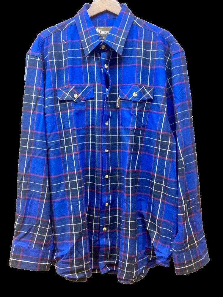 Flanellskjorta Jaktia Edition Pinewood - Färg 3