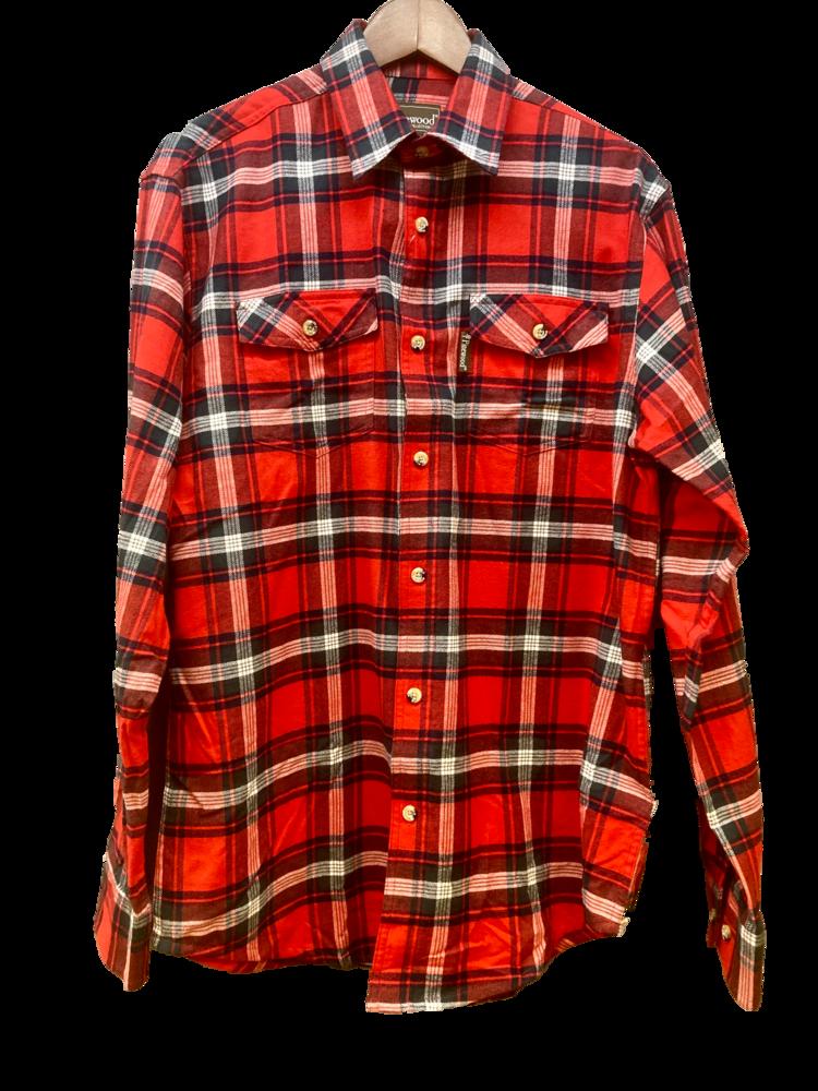 Flanellskjorta Jaktia Edition Pinewood - Färg 8