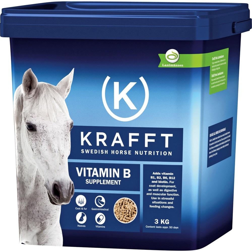 Fodertillskott Krafft Vitamin B  3 Kg
