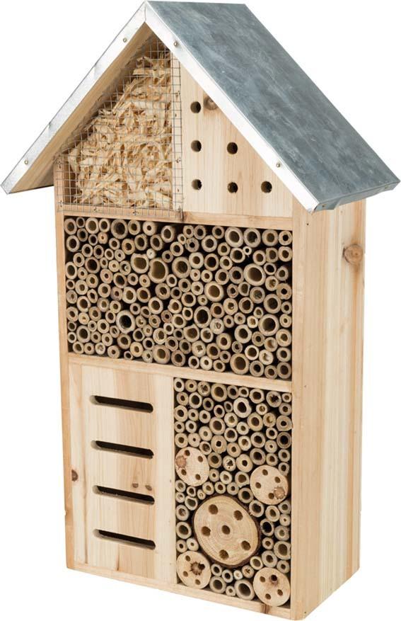 Insektshotell Trä 29×49×16 cm Trixie