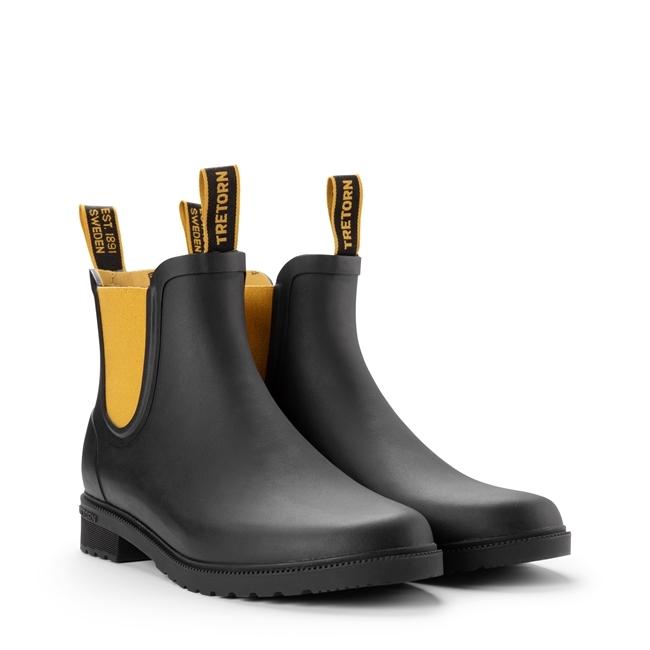 Chelsea Classic Boot Tretorn - Black/Harve