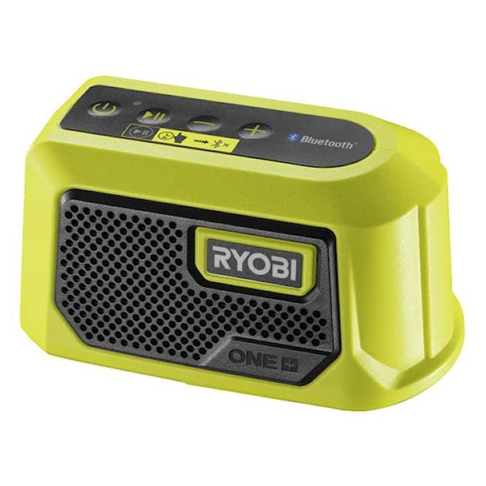Ryobi RBTM18-0 Bluetooth-högtalare Mini 18V