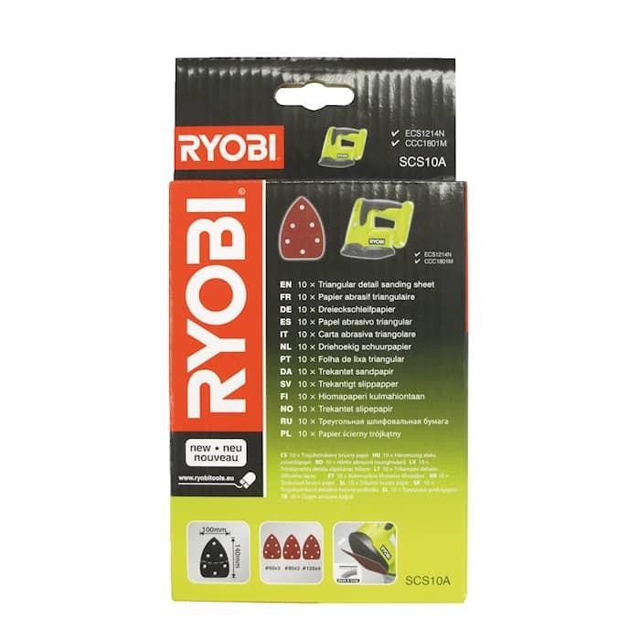 Ryobi SCS10A Hörn- och detaljslippapper