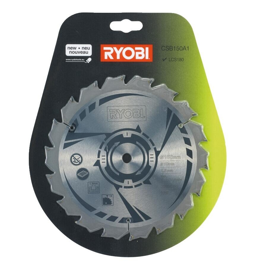 Ryobi CSB150A1 Sågklinga Cirkelsåg 150 mm