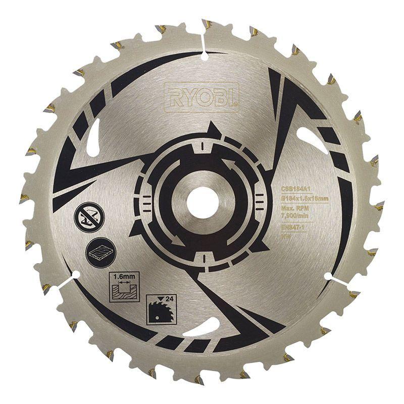 Ryobi CSB184A1 Sågklinga Cirkelsåg 184 mm