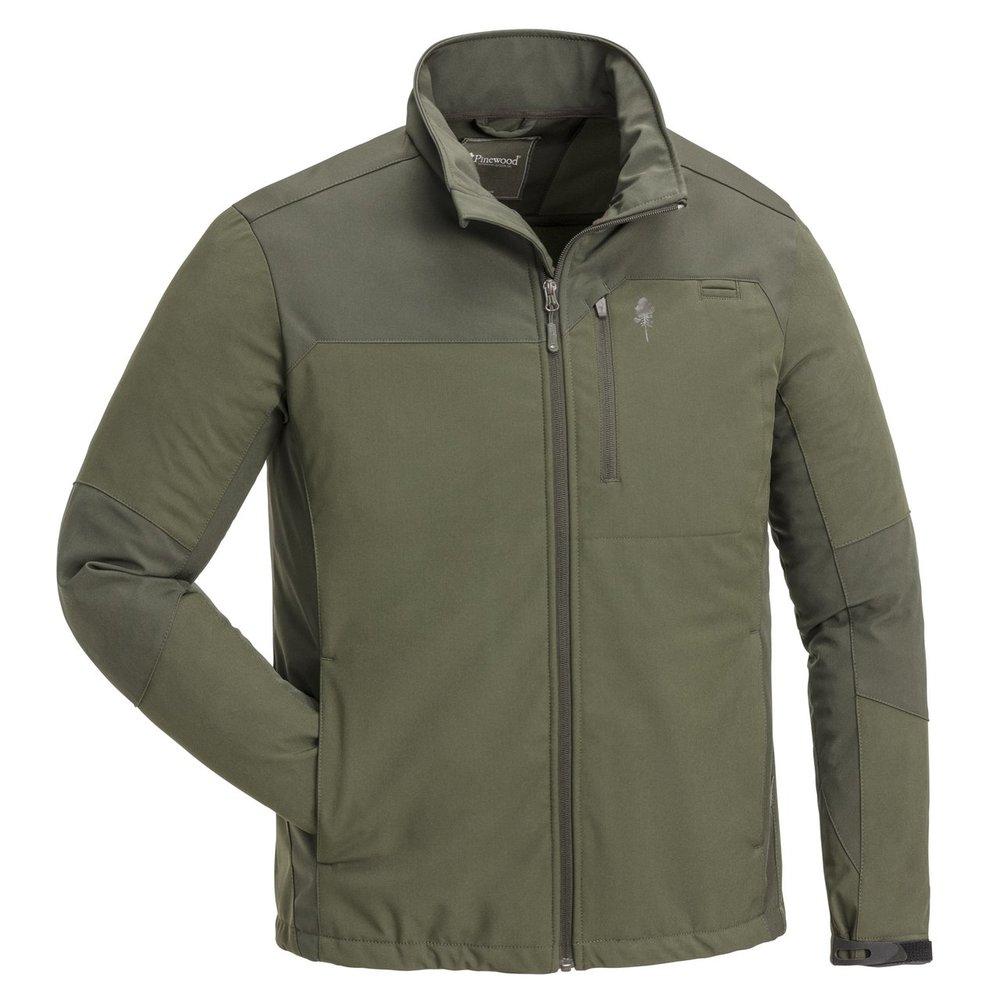 Furudal 3L Stretch Shell Jacket Pinewood - Mörkoliv/Mockabrun *
