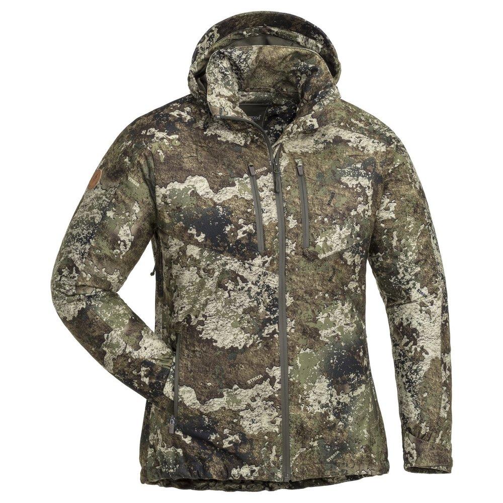 Furudal/Retriever Active Camou Jaktjacka Dam Pinewood - Kamouflage *