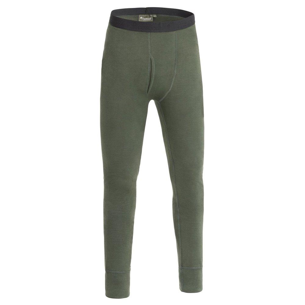 Abisko Merino Base Layer Pants Pinewood - M. Mossgrön *