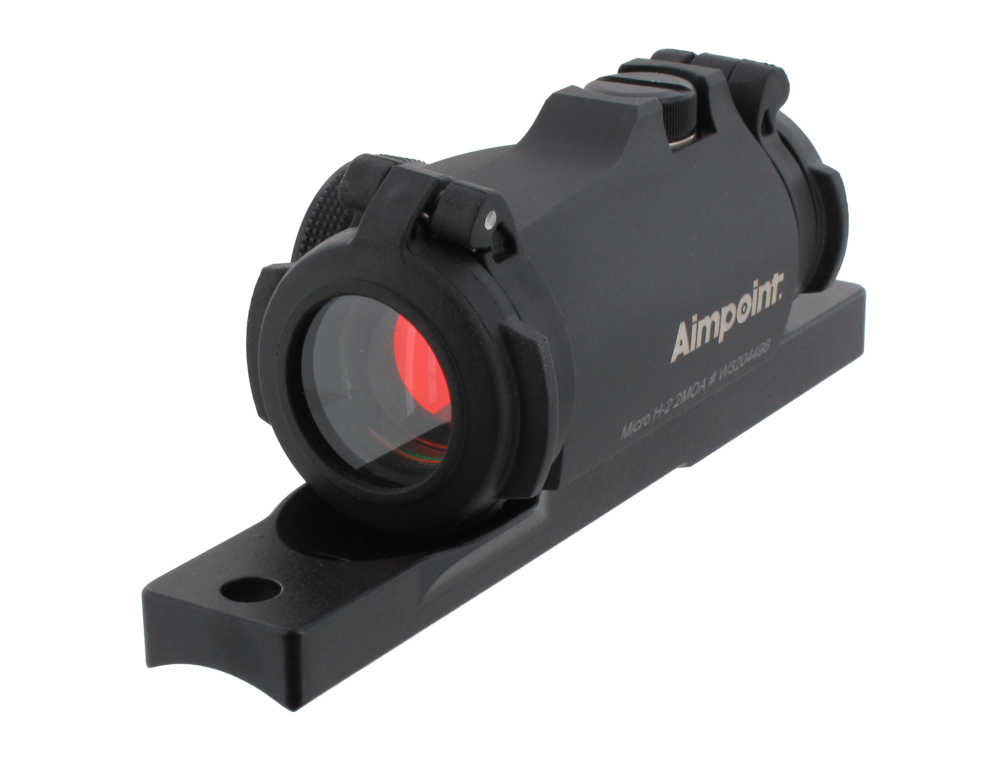 Aimpoint Micro H-2 2MOA Med Fäste För Halvautomatiska Gevär *