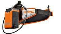 Batteribälte med kabel, hölster och batteriadapter